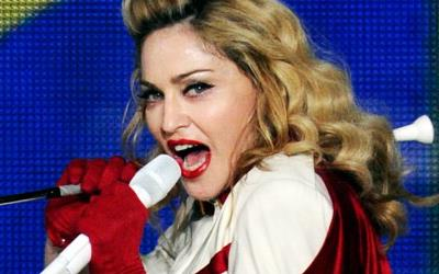 Recording artist Madonna performing in Las Vegas (© David Becker/Getty Images)