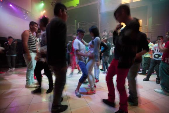 Perreo dance (AP Photo).