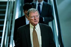 Senador James Inhofe (© Bill Clark/Roll Call/Getty Images)