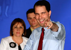 Scott Walker (© Morry Gash/AP)