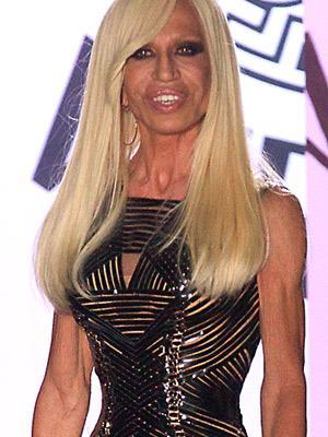 Designer Donatella Versace may