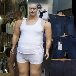 Photo: Social media photo of 'Anyone else horrified that they make obese mannequins too now? (ReddityDoopity via Reddit, http://imgur.com/XqCNt)