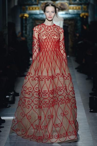 Valentino Spring 2013 Couture Show//Photos: Courtesy of Glamour