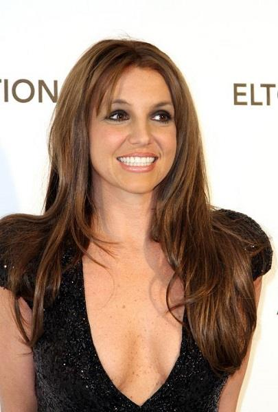 Britney Spears as brunette \\ Photo: Getty Images
