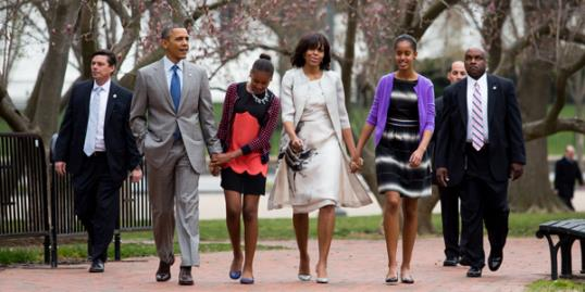 Michelle Obama wears Prabal Gurung dress on Easter.