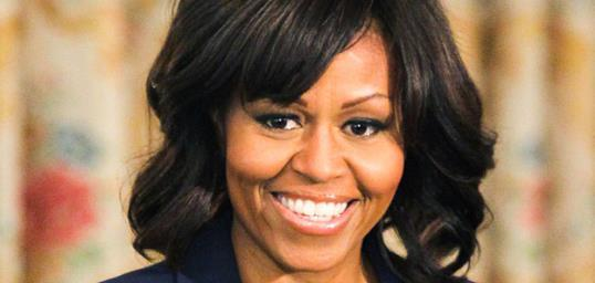Michelle Obama // PHOTO: AKM-GSI