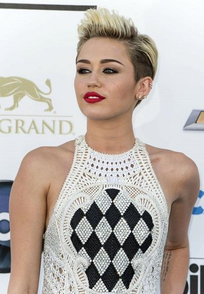 Photo: Miley Cyrus at the Billboard Music Awards //Corbis Wire, Splash, Getty Images
