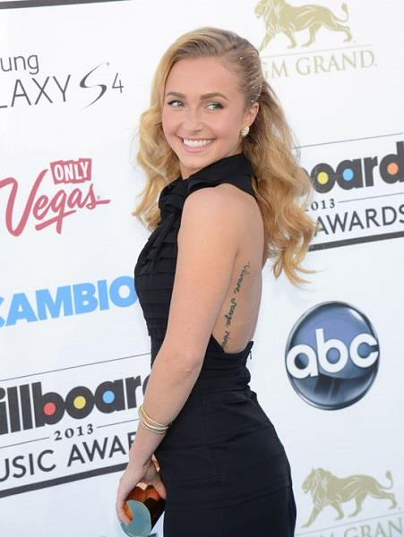 Photo: Hayden Panettiere at the Billboard Music Awards //Corbis Wire, Splash, Getty Images