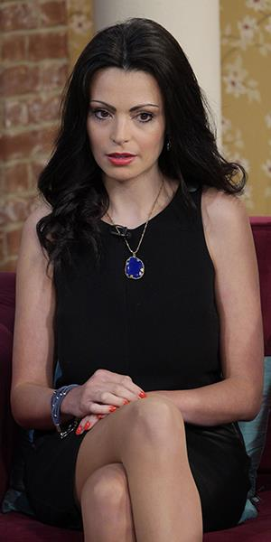 Photo: Laura Fernee on 'This Morning' TV program on May 20 (Ken McKay/Rex Features)