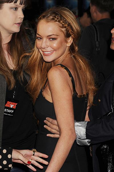 Photo: Lindsay Lohan // Jeffrey Mayer/WireImage/Getty Images; Lindsaylohan.com