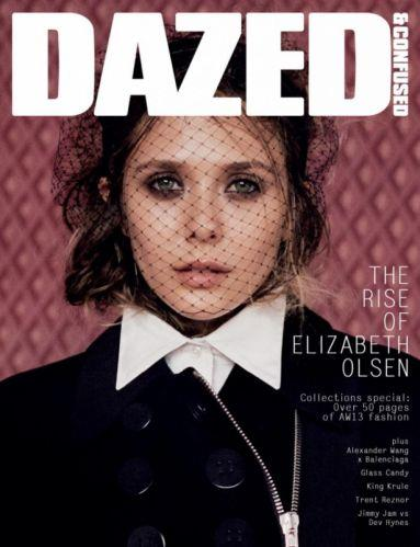 Photo: Elizabeth Olsen on the cover of Dazed Magazine // Courtesy of Her Campus