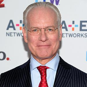 Photo: Project Runway host Tim Gunn attends the AE Networks 2013 Upfront on May 8 in New York (Evan Agostini/Invision/AP)