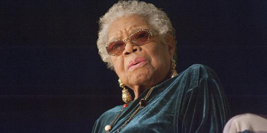 Photo: Dr. Maya Angelou // Kris Connor/Getty Images