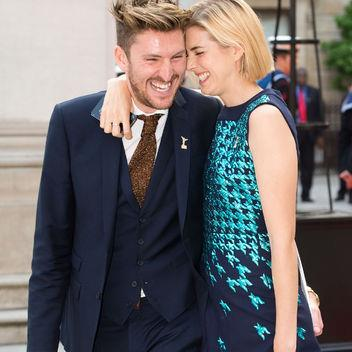 Photo: Henry Holland with model Agyness Deyn