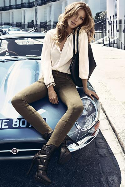 Photo: Gisele Bündchen is the face of H&M's autumn campaign (H&M/Rex Features)