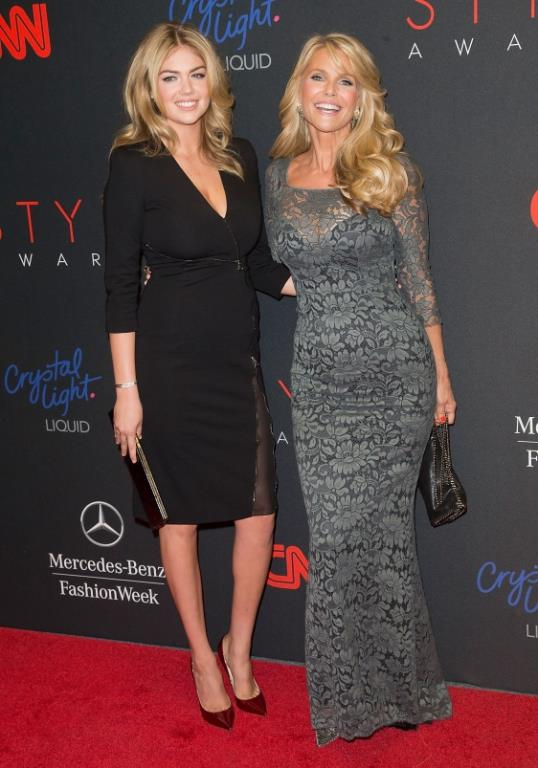 Photo: Kate Upton and Christie Brinkley // AP