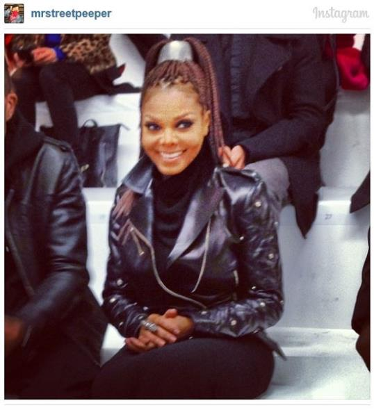 Janet Jackson courtesy of Phil Oh Instagram