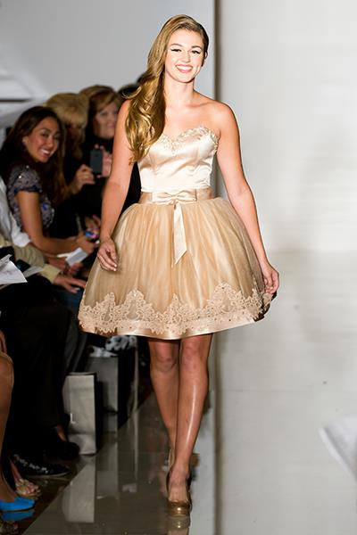 Photo: Sadie Robertson of Duck Dynasty at NYFW