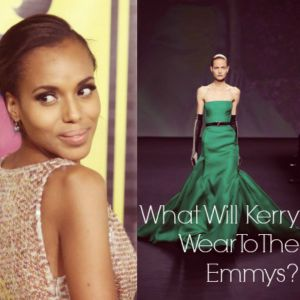 Photo: Kerry Washington // Courtesy of House Beautiful