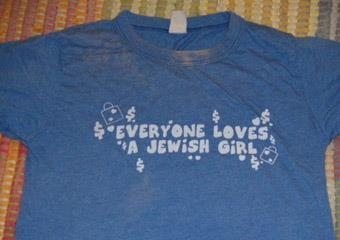 The Jewish Girl tee from Urban Outfitters