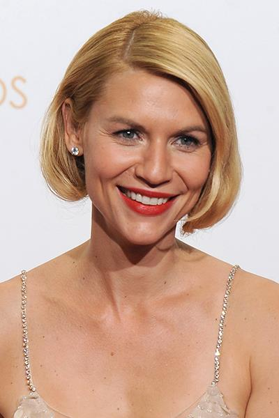 Clare Danes faux bob at the Emmy's