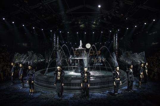 The Marc Jacobs runway, courtesy of AP
