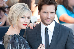 Photo: Jennie Garth and ex-husband//Shutterstock