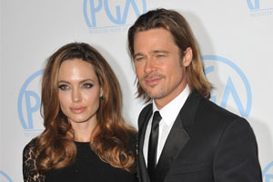 Photo: Brad Pitt and Angelina Jolie // Shutterstock