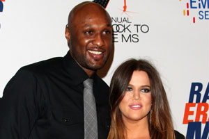 Photo: Khloe Kardashian and Lamar Odom // Shutterstock