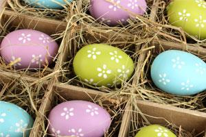 Photo: Easter eggs // Shutterstock