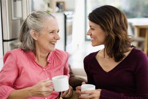 Photo: Women talking // Thinkstock