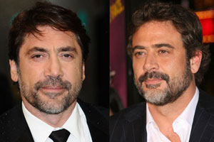 Photo: Javier Bardem Jeffrey Dean Morgan // Shutterstock