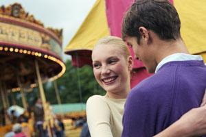 Photo: Couple at carnival // Thinkstock