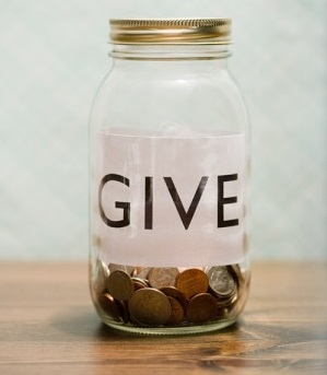 Donate jar // Veer // Courtesy of Parenting.com