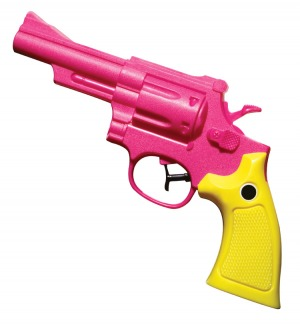 Pink gun // Getty images