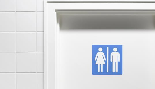 Photo: School installs unisex bathroom / Peter Dazeley/Getty Images