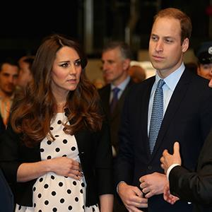 Photo: Kate Middleton and Prince William attend the Warner Bros. Studios launch on April 26 (Rex Features)