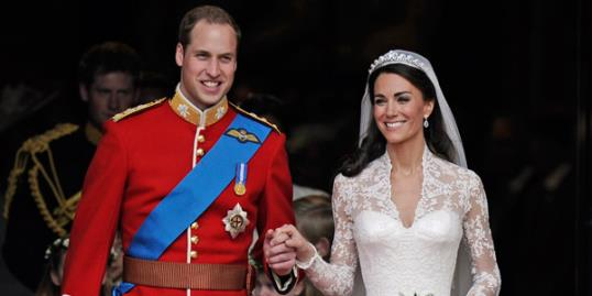 Photo: Kate and William Royal Wedding // Associated Press