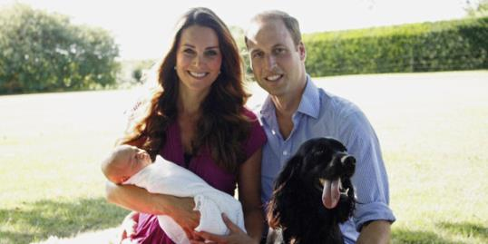 Photo: Kate, Will and George // Getty Images