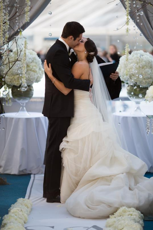 dream wedding couple