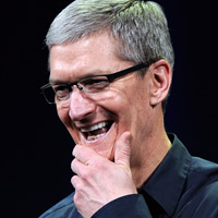 Photo: Apple CEO Tim Cook, ©Kevork Djansezian/Getty Images