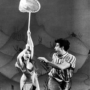 Photo: Scene from Sadie Hawkins Day ballet, choreographed by Michael Kidd, from Broadway production of L'il Abner. © Gjon Mili//Time Life Pictures/Getty Images