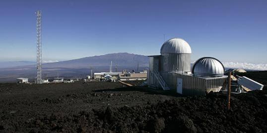 Photo: The Mauna Loa Observatory atmospheric research facility on the island of Hawaii./Chris Stewart/AP 