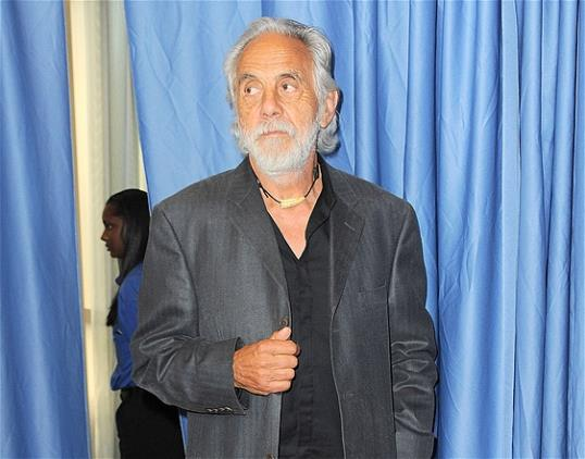 Photo: File photo of Tommy Chong at the Rock and Roll Hall of Fame Induction Ceremony at the Nokia Theatre in Los Angeles. The 74-year-old comedian thinks legalizing marijuana on a federal level would offer numerous benefits, including a boost to the U.S. economy if it were taxed. (Photo by Jordan Strauss/Invision/AP)