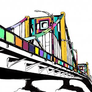 Photo: Illustration of what bridge would look like if completed / Courtesy of knitthebridge.wordpress.com