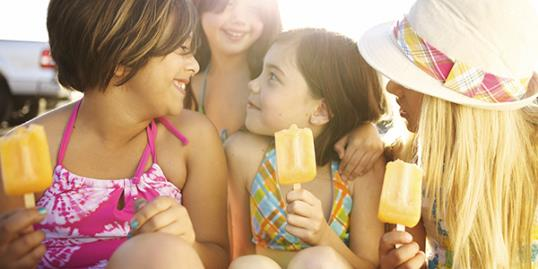 Photo: Kids eating popsicles / Priscilla Gragg/Getty Images