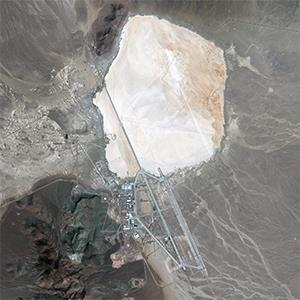 Area 51 // (DigitalGlobe/Getty Images)