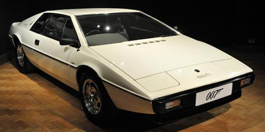 James Bond's Lotus Esprit from 'The Spy Who Loved Me' (REX/Nils Jorgensen)