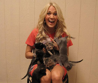 Photo: Twitter / Carrie Underwood