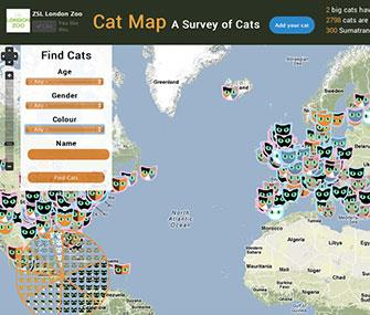 Image: Cat Map / Zoological Society of London